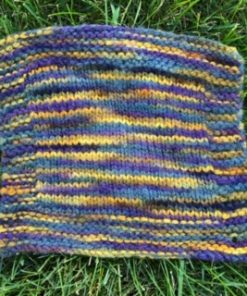 Swatch of Houses of Parliament yarn