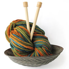 Bulky Variegated Yarn