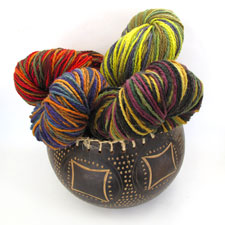 2 Ply Variegated Yarn