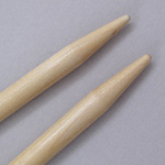 Brittany Birch Single-Point Knitting Needles US Size 15 (10 mm)