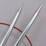 Chiagoo Premium Stainless Steel Circular Knitting Needles US Size 1 1/2 (2.5 mm)