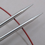Chiagoo Lace Stainless Steel Circular Knitting Needles US Size 9 (5.5 mm)