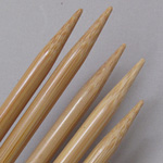 Clover Bamboo Double-Pointed Knitting Needles US Size 10 1/2 (6.5 mm)
