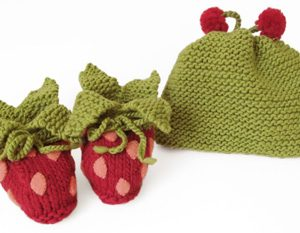 365-Strawberry-Booties&Hat-