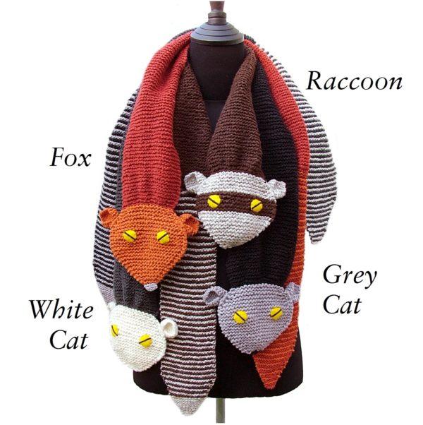 Raccoon Critter Scarf Pdf Pattern Morehouse Farm