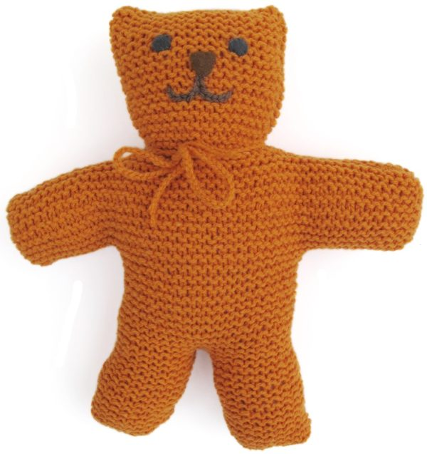 KidsKnit Teddy Bear PDF Pattern - Morehouse Farm