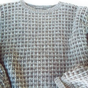 Morehouse Family Sweater crop