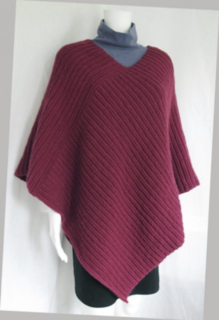 Purly Poncho Adult