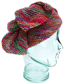 Head Scarf KnitKit (variegated) - Morehouse Farm
