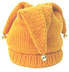 Knitting Pattern For Jester Wool : Jester Hat KnitKit - Morehouse Farm