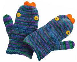 KissingFish Mittens