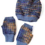 Abela Hat & Fingerless Mittens
