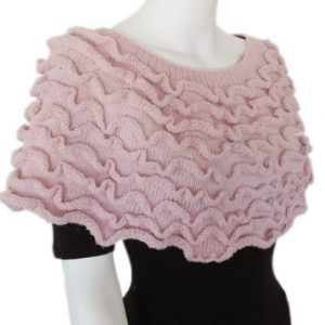 Ruffled Poncho Pattern