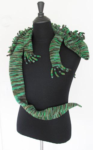 Iguana Scarf 1