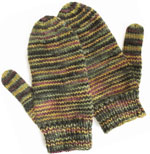 Variegated Mittens