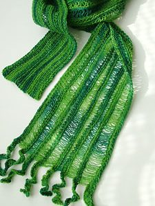 Fiddlehead Scarf