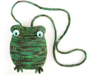 Frog Minaudiere Purse