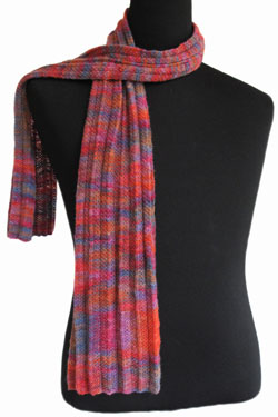 Pleated Lace Scarf