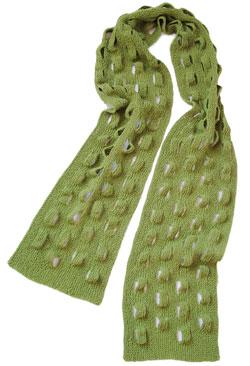 Treefrog Scarf Pattern