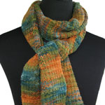Variegated Knit/Purl Scarf