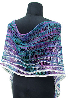 Waves Shawl