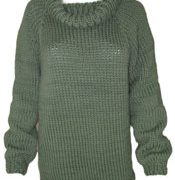 Cowl Neck Sweater KnitKit (Size Small)
