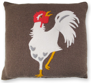 Colorful Realm Pillow KnitKit - Hen