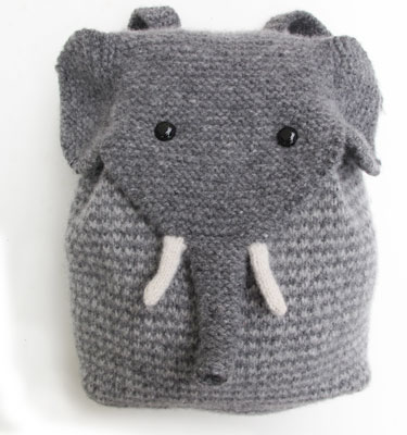 Elephant Backpack KnitKit