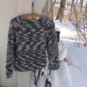 Agate Sweater KnitKit (Size 42)
