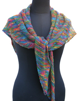 Bellini Shawl KnitKit (variegated)