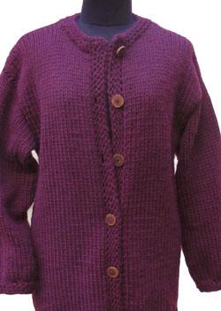 Biltmore Cardigan KnitKit (Size 48) 1