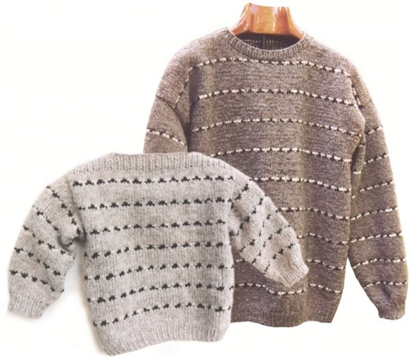 BishBash Sweater KnitKit 1