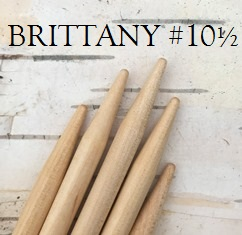 Brittany Birch Double-Pointed Knitting Needles US Size 10 1/2 (6.5 mm)