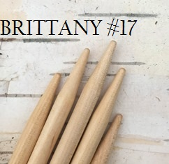 Brittany Birch Double-Pointed Knitting Needles US Size 17 (12 mm)