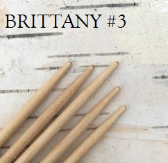 Brittany Birch Double-Pointed Knitting Needles US Size 3 (3.25 mm)