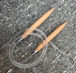 ChiaoGoo Wood Circular Knitting Needles US Size 17 (12.75 mm)