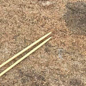 ChiaoGoo Bamboo Single-Point Knitting Needles US Size 1 (2.25 mm)