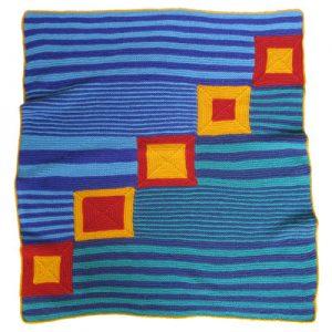 Baby Blanket Art KnitKit - Circus