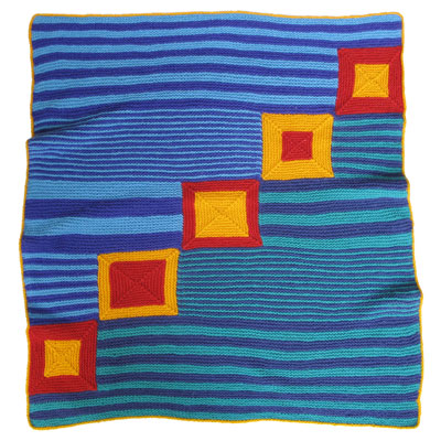 19de59231 Baby Blanket Art KnitKit - Circus - Morehouse Farm