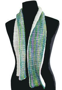 DoubleSided Scarf PDF Pattern