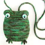 Frog Minaudiere Purse KnitKit