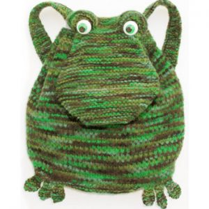 Frog Backpack KnitKit