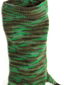 Alligator Christmas Stocking PDF Pattern