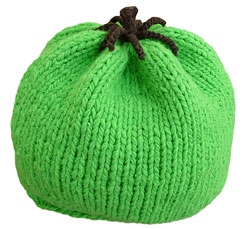Green Tomato Hat PDF Pattern