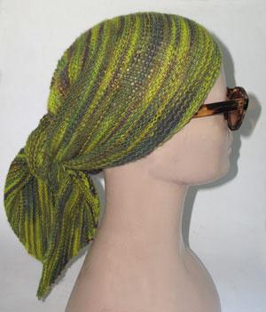 Triangular Headscarf Pdf Pattern Morehouse Farm