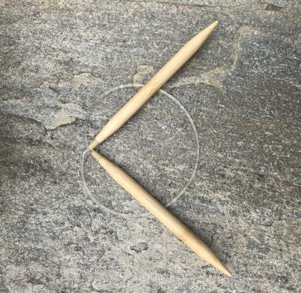 Skacel Profi Bamboo Circular Knitting Needles US Size 17 (12.00 mm)