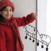 Children's Raglan Sweater KnitKit – Size 10 2