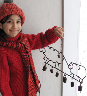 Children's Raglan Sweater KnitKit - Size 6 & 8+A352+A379+A406+A433