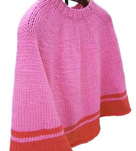 Picadilly Poncho KnitKit (Teen)