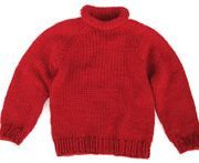 Children's Raglan Sweater KnitKit - Size 10